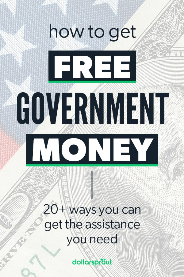 how to get free money from the government