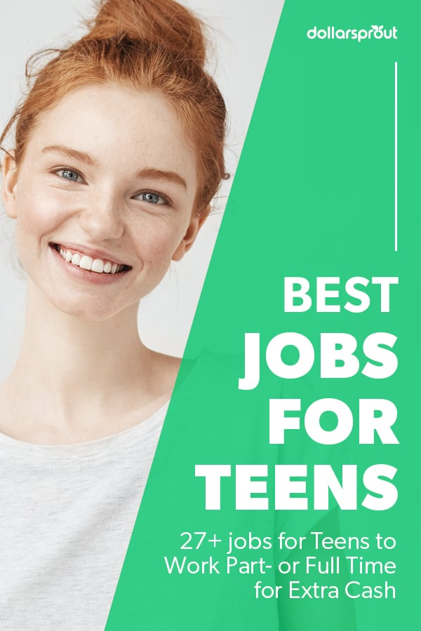 best jobs for teens looking for full or part time work