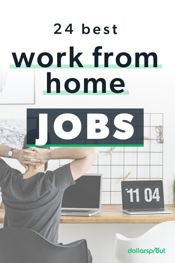 best work from home jobs that are legitimate