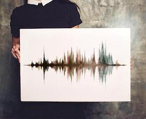 Voice Wave Art