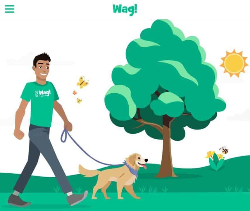 Wag! homepage