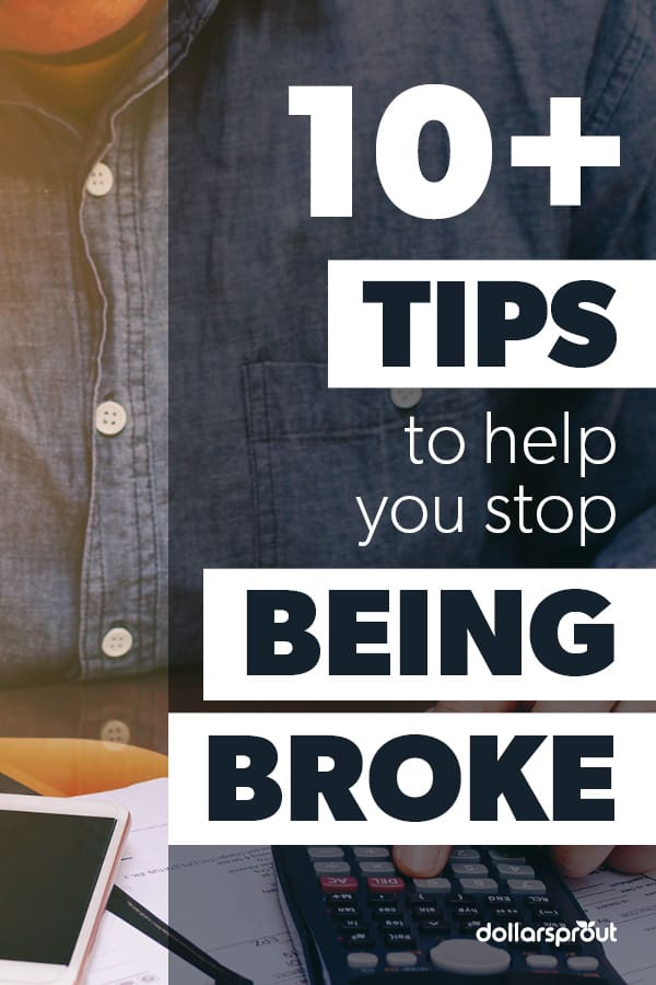 10 Reasons you're always asking yourself why am I broke
