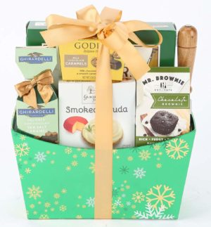 Cheese and Chocolate Easter Basket for Adults
