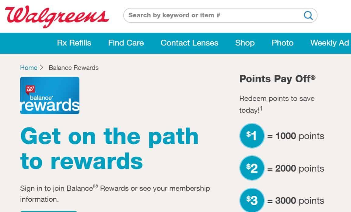 Walgreens equilibra i premi