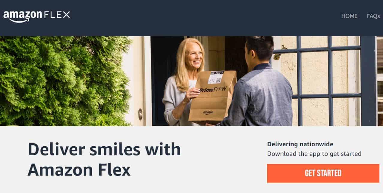 Amazon Flex screentshot