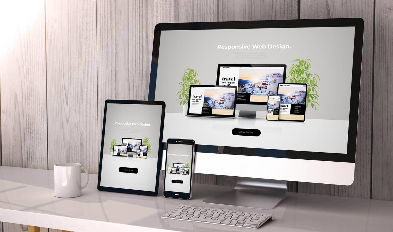thiết kế trang web trên các màn hình khác nhau