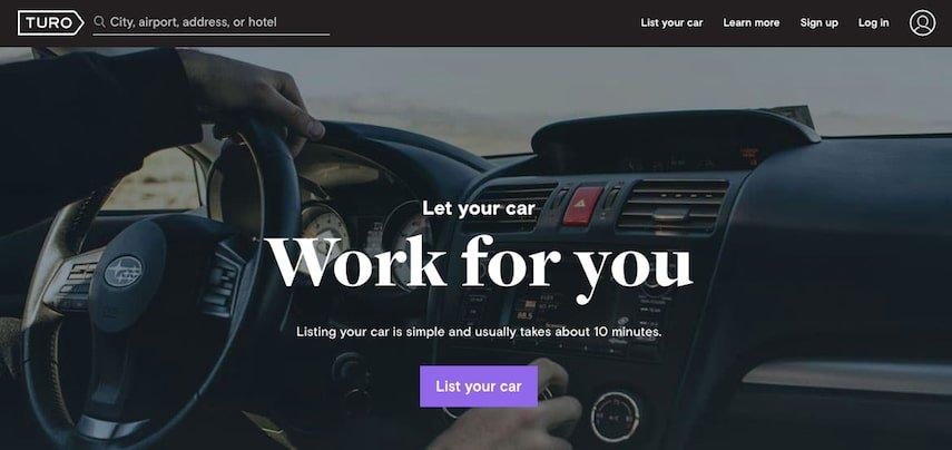 Homepage dei pneumatici