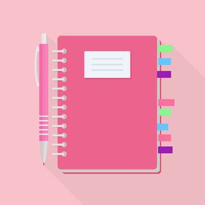Use a bullet journal to plan your budget