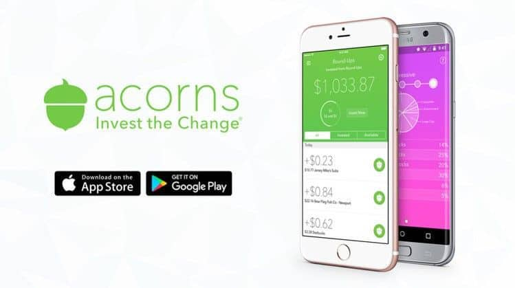 Acorns was chosen as one of the best investment apps of 2018 by DollarSprout