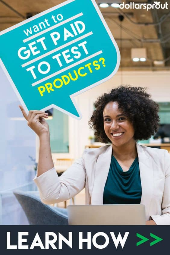 Get paid to test products at home for free