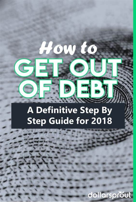 step by step guide on how to get out of debt