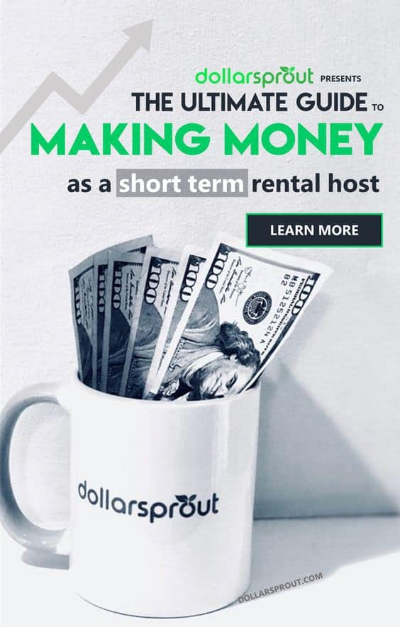 Desperately need to get out of debt? Looking for ways to make money so you can pay off debt fast? Becoming an Airbnb host may your ticket to creating the perfect passive income source. Get Airbnb host ideas, decor tips and draft reasonable house rules with the complete DollarSprout.com guide to making money as an Airbnb host. #makemoney #passiveincome #sidehustle #dollarsprout