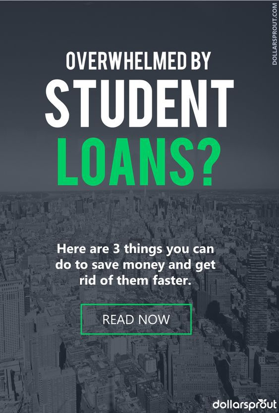 Sick and tired of paying off student loans? Get 3 of the best tips for generating a payoff plan and repaying your student loan debt once and for all. #studentloans #debt #debtfree #dollarsprout