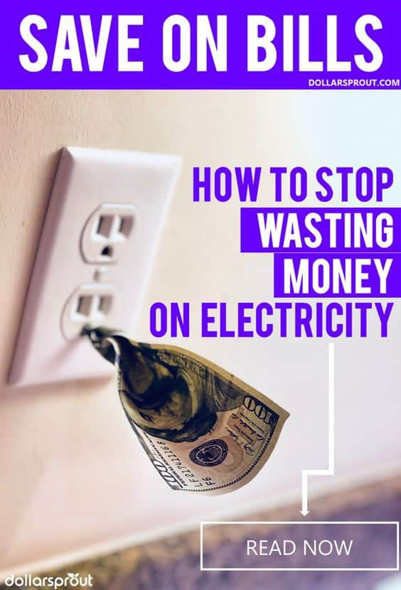 These 10 ways to save money on utilities are the best! I was able to save so much money on my electricity bill with these simple money saving tips! #savemoney #dollarsprout #moneysavingtips
