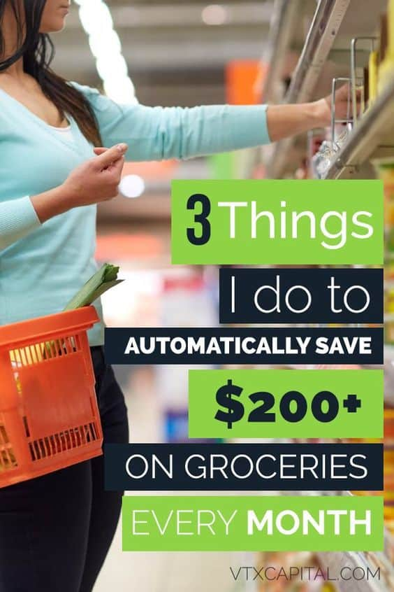 3 super easy money saving tips that'll help you save hundreds on common household items and groceries each month. #savemoney