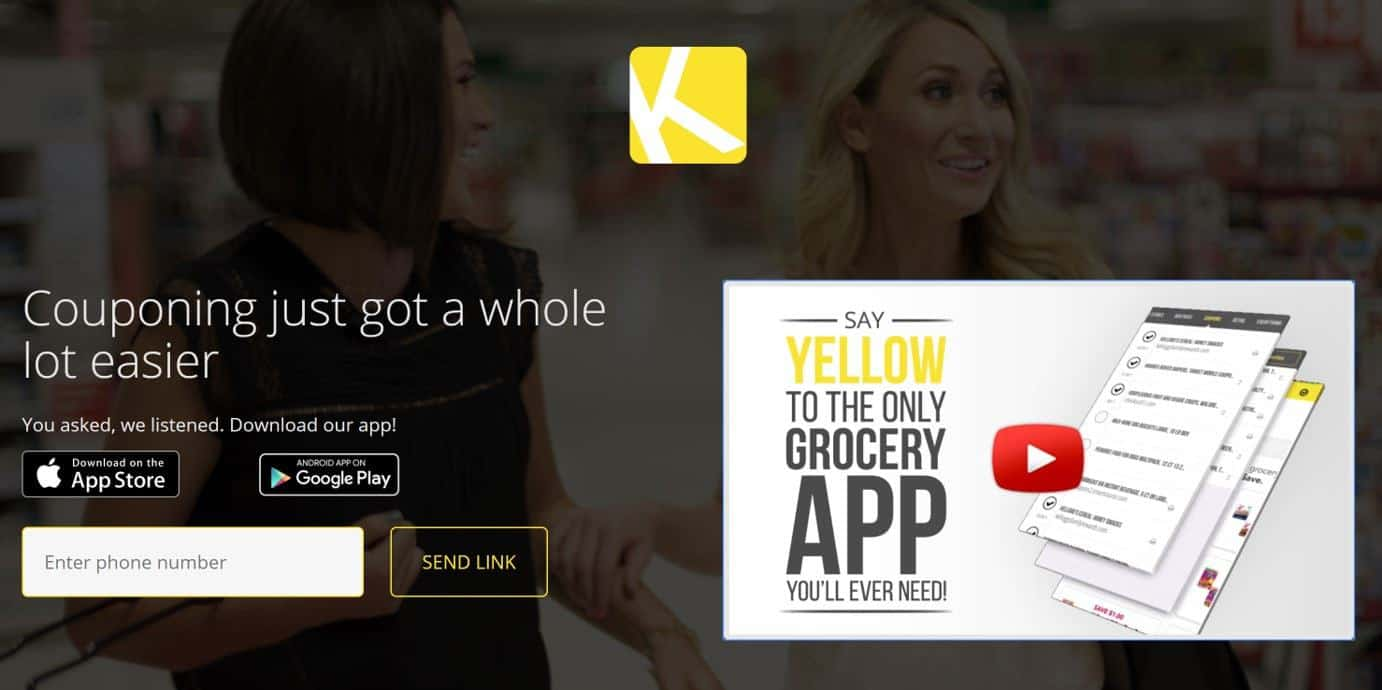 Krazy Coupon Lady app is a cash back app for groceries, similar to Ibotta