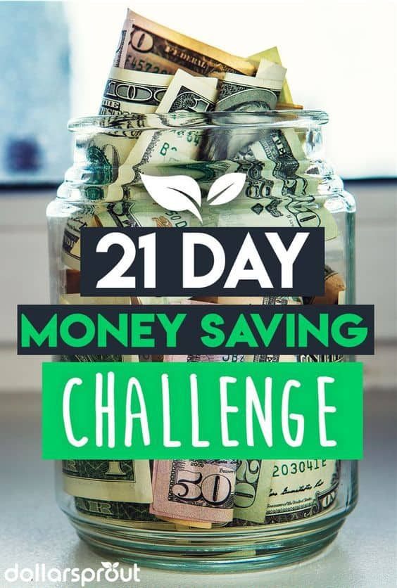 Do you desperately need to save money better? Check out this money saving challenge and get all sorts of juicy money saving tips to help you save money fast. This save money challenge will give you all the tools and ideas you need to save $2,100 over the next 21 days! #savemoney #moneysavingtips #frugalliving #dollarsprout