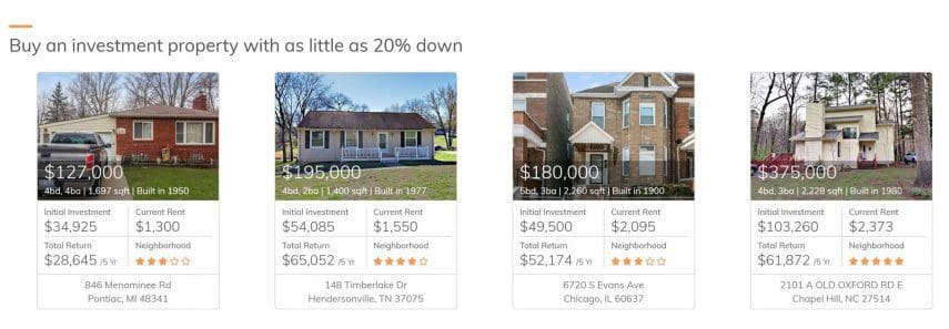 Roofstock is an online platform designed to help you purchase rental properties and earn passive income