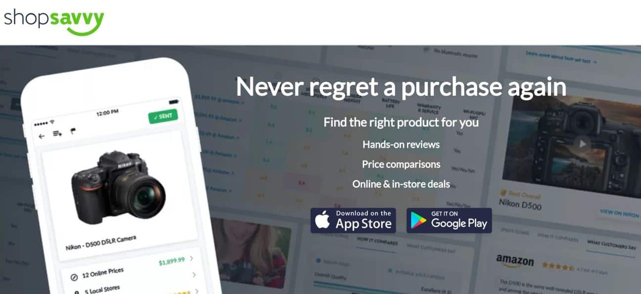 ShopSavvy is a cash back app for groceries, similar to Ibotta