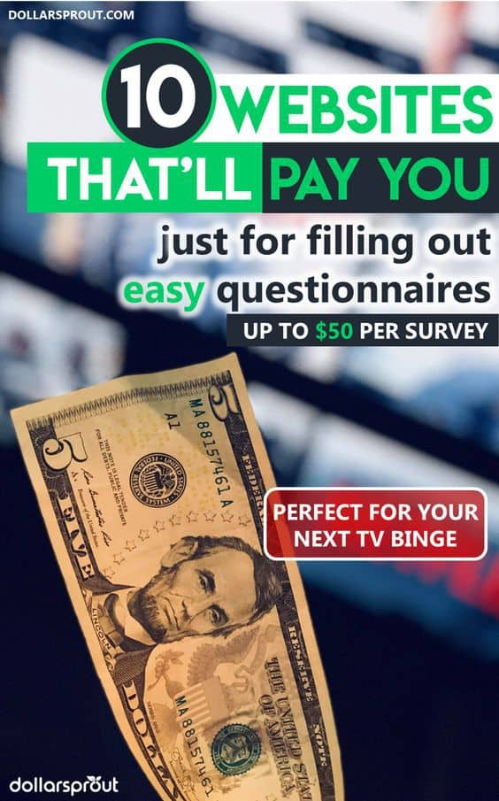 taking online surveys for money 13 best places to take paid online surveys for money up 2544