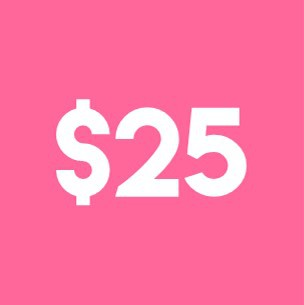 Get $25 dollars from this JOANY